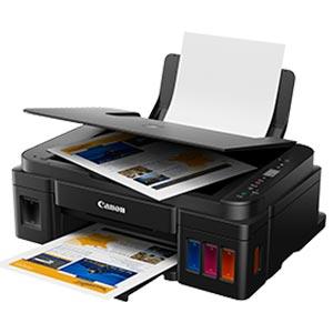 CANON PIXMA Printer All in One INK TANK เครื่องพิมพ์มัลติฟังก์ชันอิงค์เจ็ท G2010