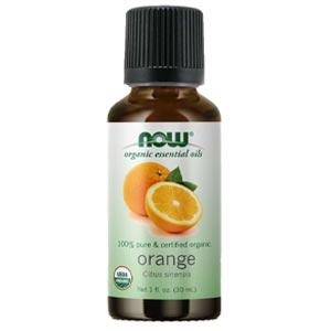 น้ำมันหอมระเหย NOW® Foods Essential Orange Oil Organic