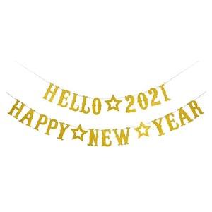 ป้ายปีใหม่ ป้าย Happy New Year 2021