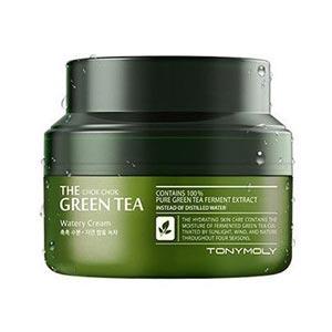 มอยเจอร์ไรเซอร์ Tonymoly The Chok Chok Green Tea Watery Moisture Cream
