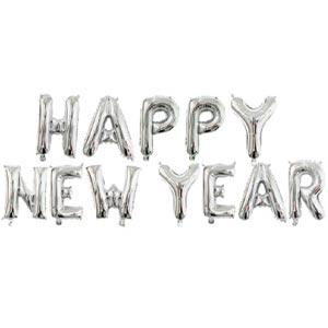 ลูกโป่งฟอยล์ Happy new year