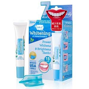 DR.C Whitening เจลฟอกฟันขาว