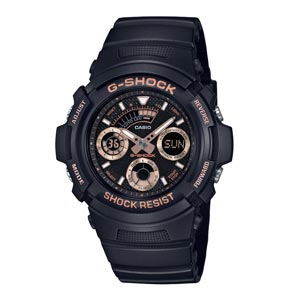 G-SHOCK นาฬิกาข้อมือ Special Color Models รุ่น AW-591GBX-1A4 สีดำ