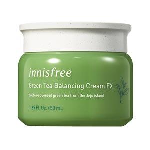 ครีม Innisfree Green tea balancing cream EX