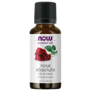 NOW® Foods Essential Rose Absolute Oil Blend น้ำมันหอมระเหย