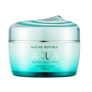 Nature Republic Super Aqua Max Combination Watery Cream ผลิตภัณฑ์ครีมบำรุงผิว