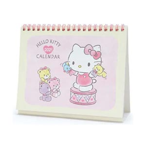 SANRIO ปฏิทินตั้งโต๊ะ Hello Kitty Desk Calendar