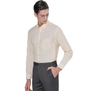 เสื้อเชิ้ต S'FARE YELLOW Stripe Shirt (Slim Fit)