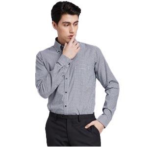 SUIT SELECT เสื้อเชิ้ต Mini Check Skinny (Slim Fit) รุ่น SKL1910